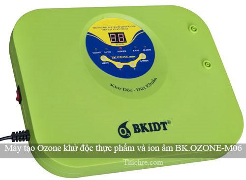 máy tạo Ozone có thật sự khử được độc