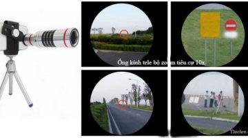 ống kính tele bộ zoom siêu xa