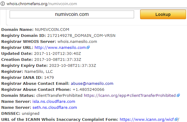 numivcoin.com