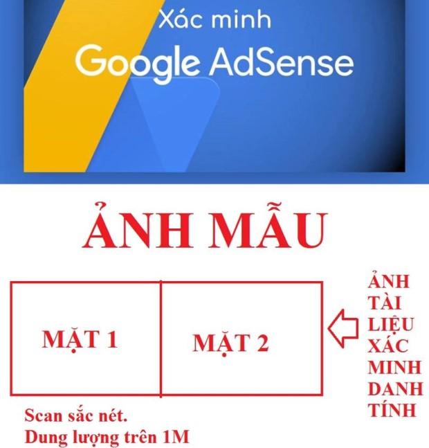 Cách xác minh danh tính để nhận tiền từ Google Adsense