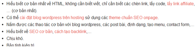xây dựng backlink cho niche site