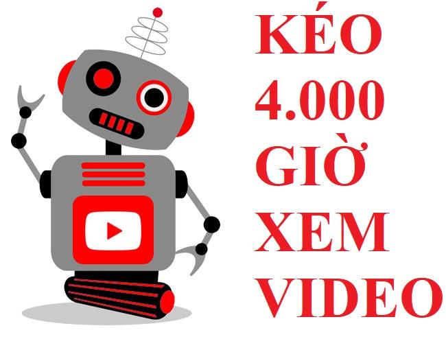 Cách kéo 4.000 giờ kênh Youtube cực nhanh