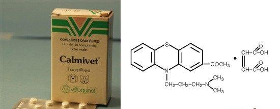 Thuốc ngủ CALMIVET để vận chuyển mèo